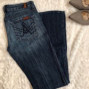 🍁7 for all Mankind Lexie A pocket Bootcut Jean🍁